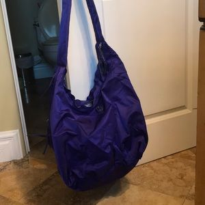 Lulu lemon purple gym bag